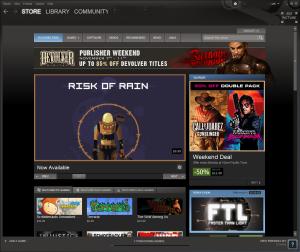 Steam on Windows 8